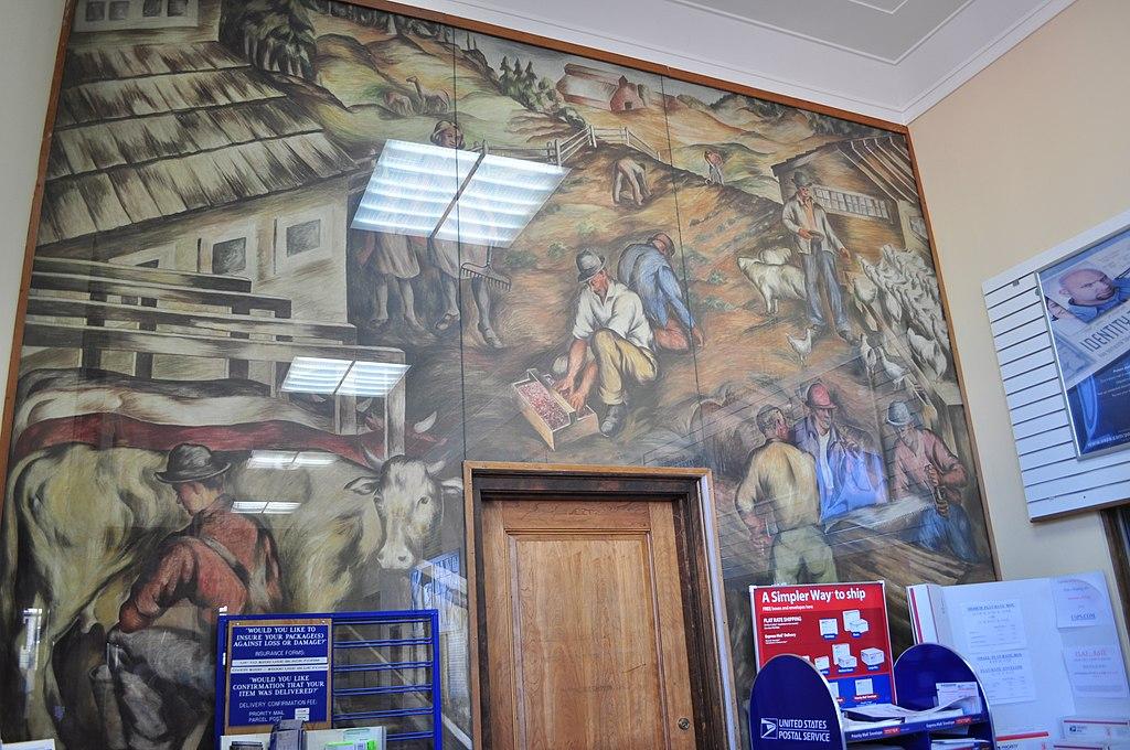 File:Centralia, WA - main post office interior 02.jpg ...