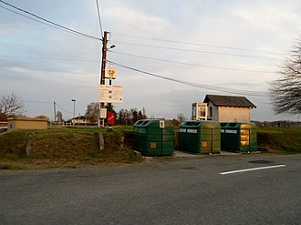 Astis - Recycling centre at Astis