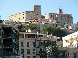 Casoli - The church and the castle of Casoli