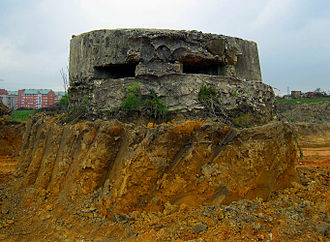 Siege of Oviedo - A bunker at the outskirts of Oviedo
