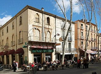 Céret - The Grand Café today