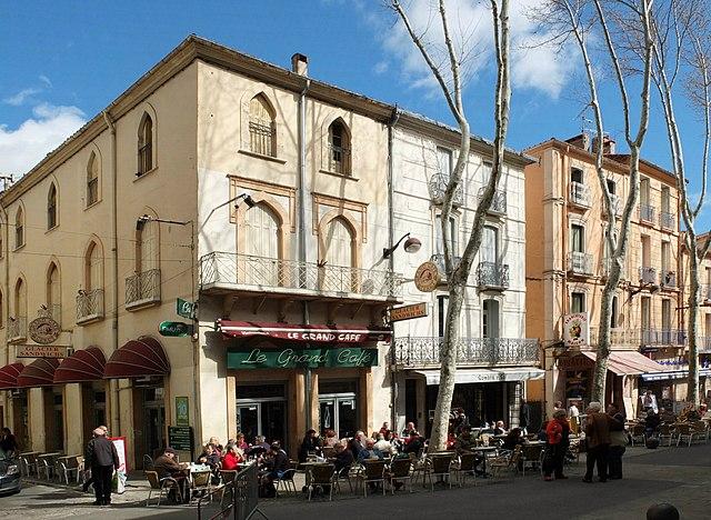 Grand Café Céret (Сере), Лангедок-Русильон, Франция - путеводитель по городу