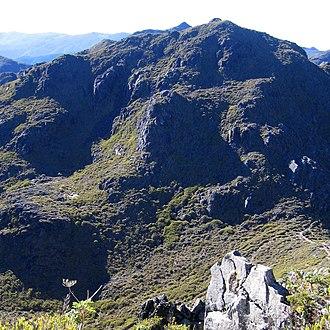 Cerro Chirripó - Image: Cerro Chirripo Picture 1191 zoom in