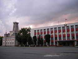 Skyline of Čačersk