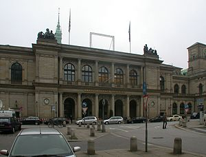 Hamburg Chamber of Commerce - The chamber's main building (2006)