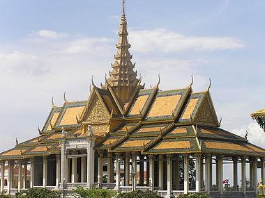Arsitektur gaya khmer