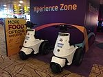 Changi Airport T3 Airport Police scooter.JPG