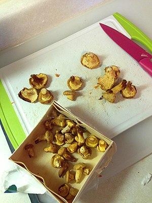 Chanterelle - Chanterelles to cook