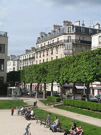 Charenton-le-Pont - Public park in Charenton-le-Pont, nearby Charenton-Ecoles metro station