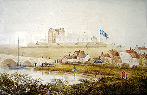 Charlemont Fort - Charlemont Fort in the 18th century