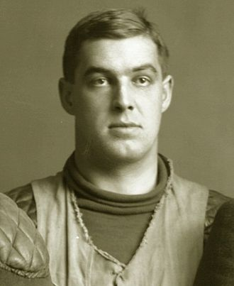 Charles B. Carter - Photograph of Carter cropped from the 1904 Michigan team portrait