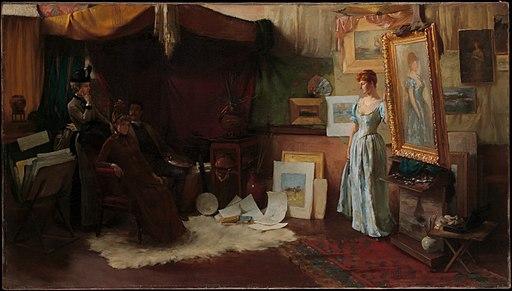 Charles Courtney Curran, Fair Critics, The Metropolitan Museum of Art
