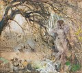Charles Sims - Sims-98303x - Lesbia and the Sparrows.jpg