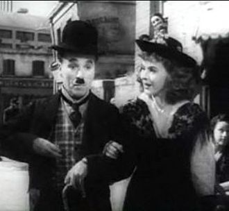 Paulette Goddard - With Chaplin in The Great Dictator