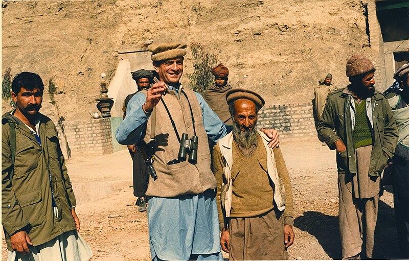 File:Charlie Wilson with Afghan man.jpg