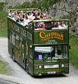 Cheddar Gorge Tour bus (A860 SUL), 1983 Leyland Titan B15 (T860), 1 September 2007.jpg