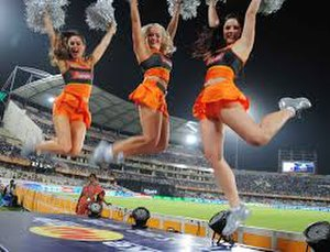 Sunrisers Hyderabad - The Sunrisers Hyderabad cheerleaders