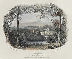 Chepstow, from Piercefield
