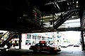 """Chicago (ILL) Downtown, S. Wabash Ave, """" under the loop, red cab """" (4824454488).jpg"""