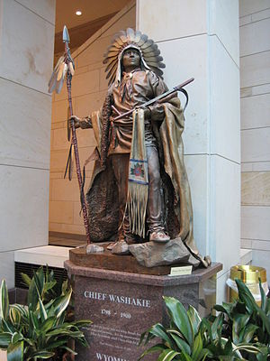 Washakie - Chief Washakie (National Statuary Hall Collection statue)