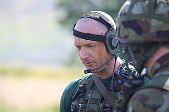 Army Reserve (Ireland) - A Sergeant from the Army Reserve leading a tactical exercise
