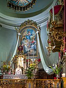 Chiesa di San Zeno al Foro Altare maggiore Madonna col Bambino Sassi Brescia.jpg