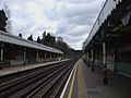 Chigwell station look east.JPG