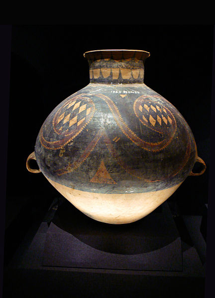 File:China Majiaoyao painted pottery 2.JPG