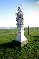 Chlum svaté Máří socha sv. Jana Nepomuckého.jpg