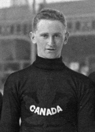 Chris Fridfinnson - Fridfinnson at the 1920 Olympics.