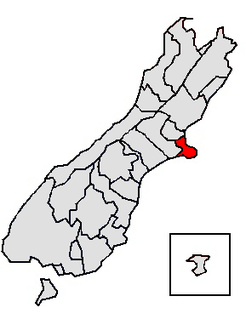 Großstadt in Neuseeland