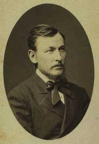 Christian Zacho - Christian Zacho, photographed in 1867