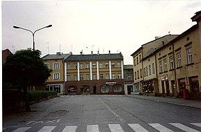 כשאנוב, ריינק, כיכר העיר , שנת 1990 ( צילם : הולנדר )