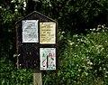Church Notice Board Puckington - geograph.org.uk - 419768.jpg