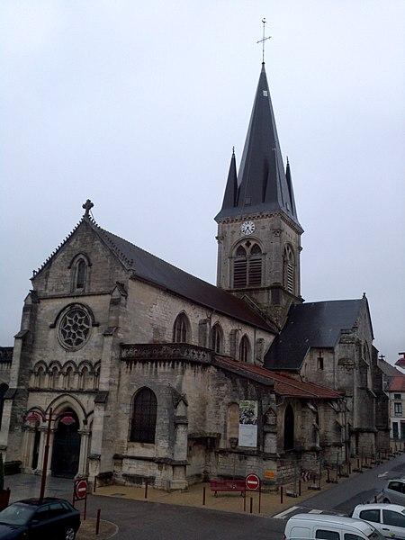 Church Notre-Dame-des-Vertus in Ligny-en-Barrois