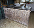 Church of St John, Finchingfield Essex England - South chapel Berners tomb 1.jpg