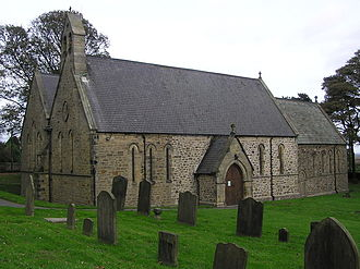 Cockfield, County Durham - Image: Church of St Mary the Virgin, Cockfield, County Durham