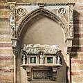 Church of the Eremitani (Padua) - Interior Tomb of Jacopo II da Carrara.jpg