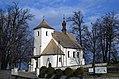 Church of the Exaltation of the Holy Cross, Płaza village, Chrzanów County,Lesser Poland Voivodeship, Poland.jpg