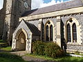 Church of the Holy Cross, Goodnestone - south porch and nave 01.jpg
