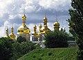 Church of the Saviour at Berestove (domes).jpg
