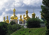 Church of the Saviour at Berestove (domes).jpg