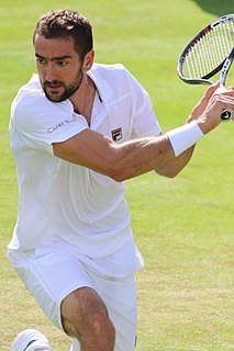 Marin Čilić Croatian tennis player