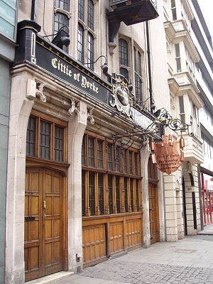 Cittie of Yorke - Image: Cittie of Yorke Holborn WC1