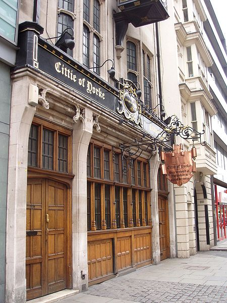 Cittie of Yorke. From London's 8 Most Unique Pubs