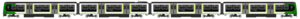 Abbey Line - Image: Class 319 London Midland Diagram
