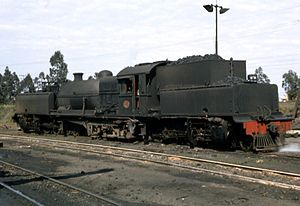 South African Class GE 2-8-2+2-8-2 - Image: Class GE no. 2274