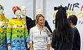 Claudia Nystad bei der Olympia-Einkleidung Erding 2014 (Martin Rulsch) 11.jpg