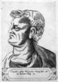 Cleanthes Assius - Illustrium philosophorum et sapientum effigies ab eorum numistatibus extractae.png
