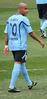 Cléber (footballer, born 1986) Brazilian footballer